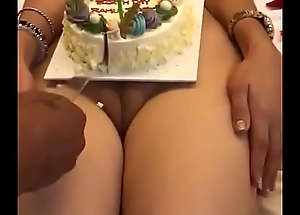 Best birthday revelry in Indian nude girl