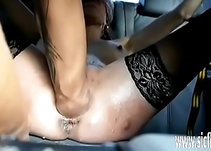 Punch fisting her pain in the neck and pussy in bondage