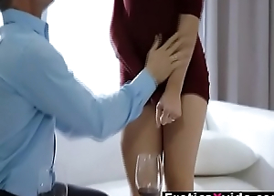 Cute hot babe sensual fuck