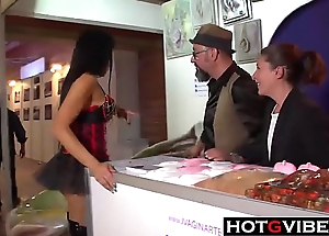 Spanish Lesbian Eurobabes Pity Anent Public