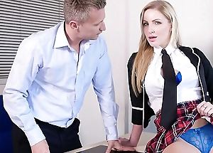 PORNO ACADEMIE - Grown partisan Georgie Lyall fucks principal