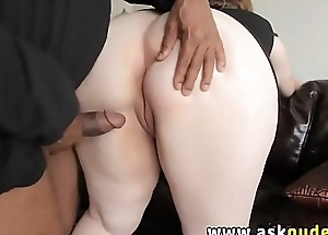 BBW MILF huge tits blowjob and fucked by dark-skinned cock
