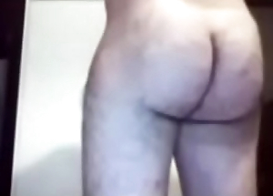Huge Round Hairy Ass mainly Muscular Guy