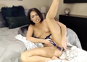 Mixed cutie Kora with hot body and tight pussy gets cum