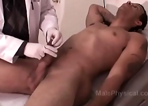 Hung Black man gets a Physical Exam from Characterless Doctor