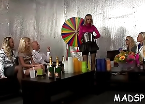Eager young amateurs enjoying a real life sex party
