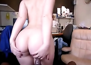 Interracial fuck big exasperation brunette