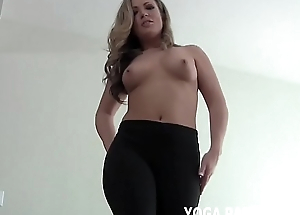 Let me bend over for you in my yoga pants JOI