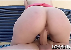 Pussy-hammering of a juicy pussy in various poses