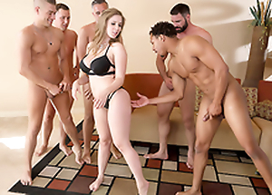 Lena Paul In the porn instalment - Brazzers House intercourse in five