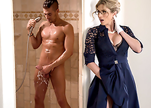 Stuck-Up Stepmom -Naked  Cory Chase In the porn scene