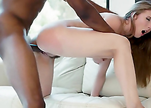 Wife Lena Paul decides to cheat on their way hubby with a black guy