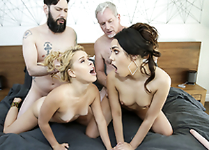 daughterSwap - Horny Teens Get Taught a Lesson By dad Cock